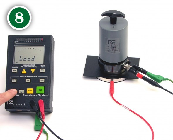 Ground Resistance Testers Hauppauge Ny : Prostat corporation esd how to measure volume